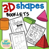 3D SHAPES BOOKLETS