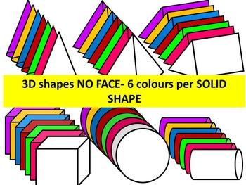 3D SHAPES-CLIP ART