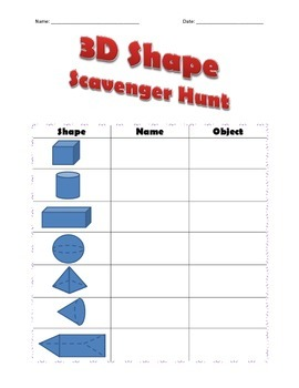3D Scavenger Hunt