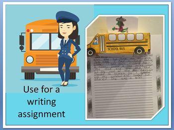 3D School Bus Craftivity / Writing