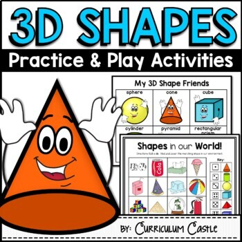 3D Shape Activities {Practice and Play}