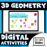 3D Shape Activities for Google Slides Distance Learning