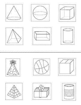 3D Shape Activity {My 3D Shapes Mini-Book} {Common Core Aligned 3D Shape Fun}