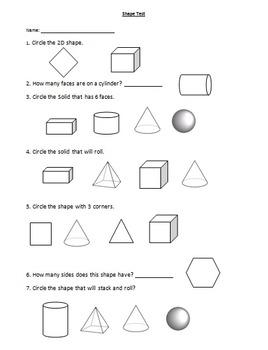 3D Shape Assessment
