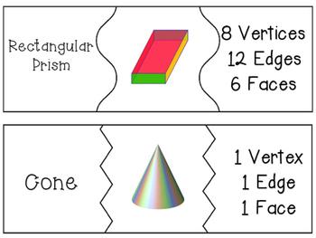3D Shape Attribute Puzzles