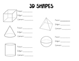 3D Shape Attributes