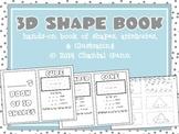 3D Shape Book- {Hands-On Cut & Glue Student Book}
