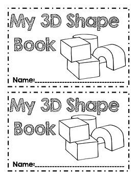 3D Shape Book