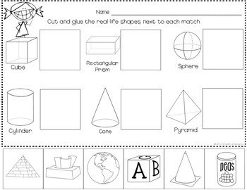 All About 3D SHAPES!