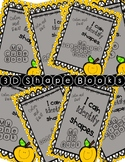 3D Shape Book Bundle (K.G.A.2)