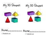 3D Shape Booklet