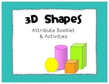 3D Shape Booklet