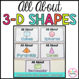 3D Shape Books Emergent Readers (Interactive)