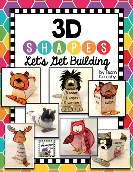 3D Shapes - Build Your Own