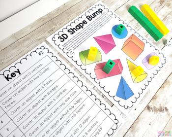 3D Shape Games (Solid Shape Games)