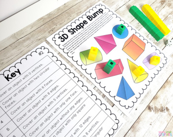 3D Shape Games (Solid Shape Games)