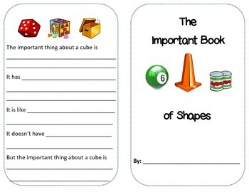 3D Shapes Activity