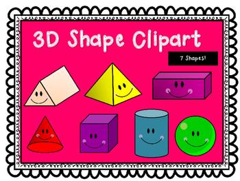 3D Shape Clipart