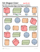 3D Shape Color and Count -
