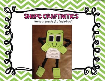 3D Shape Crafts