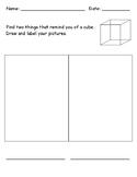 3D Shape - Cube