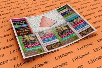 3D Shape Display Case: Triangular Based Pyramid