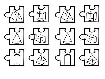 3D Shape Features Puzzles