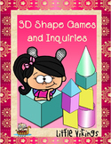 3D Shape Games and Investigations