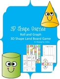 3D Shape Games -center activities