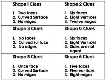 3D Shape Guess