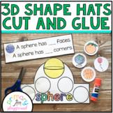 3D Shape Hats Cut and Glue