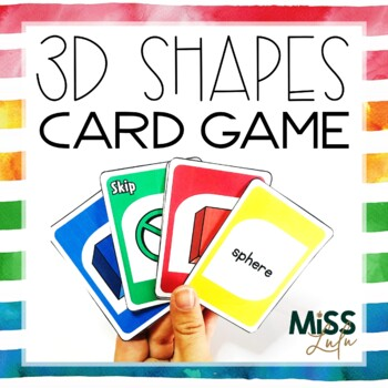 3D Shape Identification Card Game