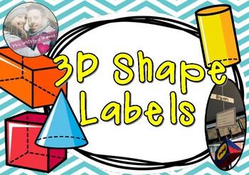 3D Shape Labels