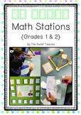 3D Shape Math Stations