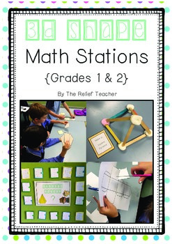 3D Shape Math Stations