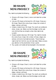 3D Shape Mini-Project