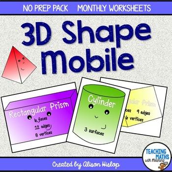 3D Shape Poster