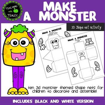 3D Shape Net Activity - Make a Monster