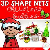 3D Shape Nets - Christmas Buddies