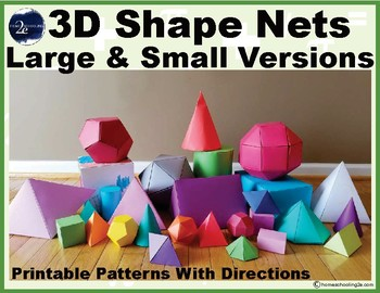 3D Shape Nets With Large & Small Versions
