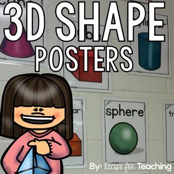 3D Shape Posters