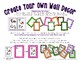 3D Shape Posters Set 1 * Create Your Own Room * Preschool Daycare
