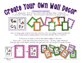 3D Shape Posters Set 2 * Create Your Own Room * Preschool Daycare