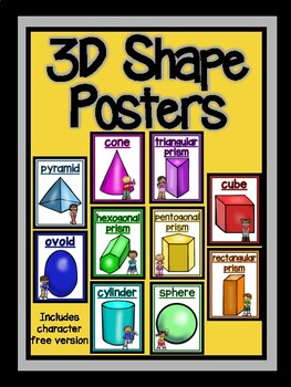 3D Shape Posters-The Modern Classroom