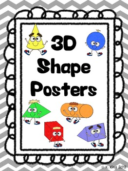 3D Shape Posters with Attributes - Chevron