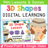3D Shape PowerPoint and Google Slides