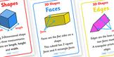 3D Shape Properties Display Posters