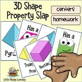 3D Shape Properties Game