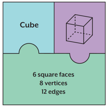 3D Shape Puzzles - Properties of Shapes