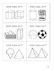 3D Shape Riddle Cards
